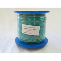 SupplyBuild 4mm Green/Yellow Solar Earth DC Cable 100m Roll
