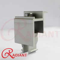Radiant Mounting Module End Clamp to suit 50mm Panels
