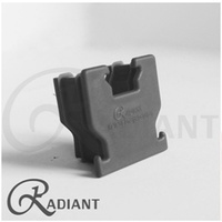 Radiant 40 Base Rail Cap (Black)