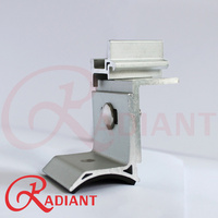 Radiant Tin Roof Wave Support & Rail Clamp