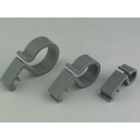 Radiant Plastic Cable Clip 25mm