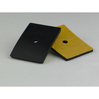 Adhesive Backed EPDM Rubber Pad 53.5x40x3mm