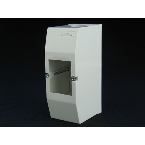 Clipsal 2 Pole Indoor Circuit Breaker Enclosure