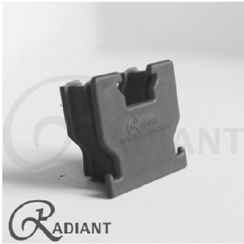 Radiant 40 Base Rail Cap (Grey)